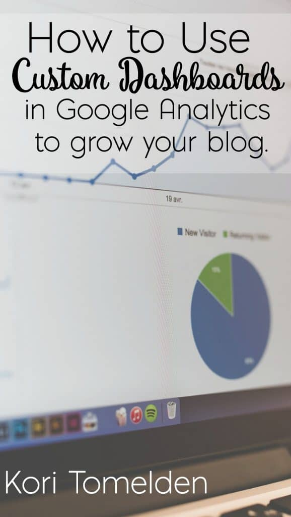 how to use custom dashboards to grow your blog