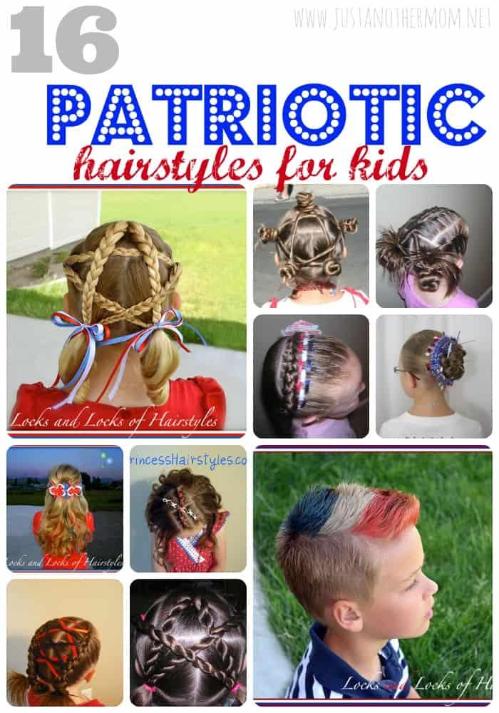 patriotic hairstyles for kids