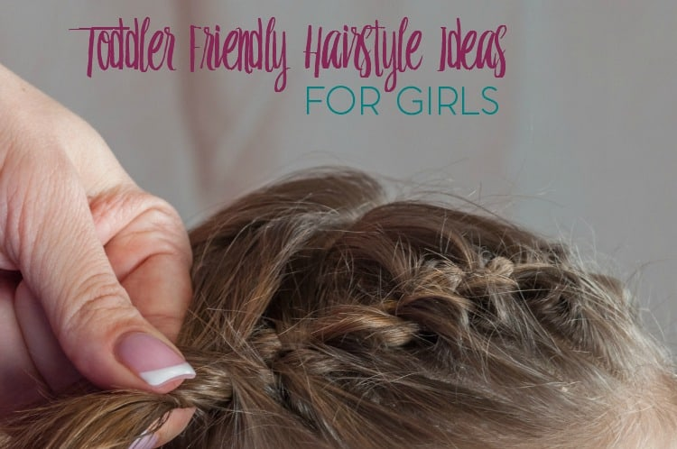 In need of some cute and easy hairstyle ideas for your toddler? Check out these toddler friendly hairstyle ideas for girls.
