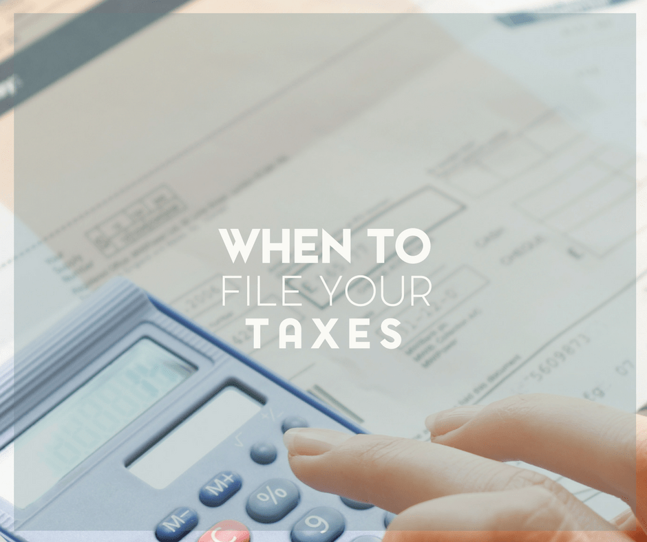 When to File Your Tax Return and Determining Your Filing Status in 2020 2