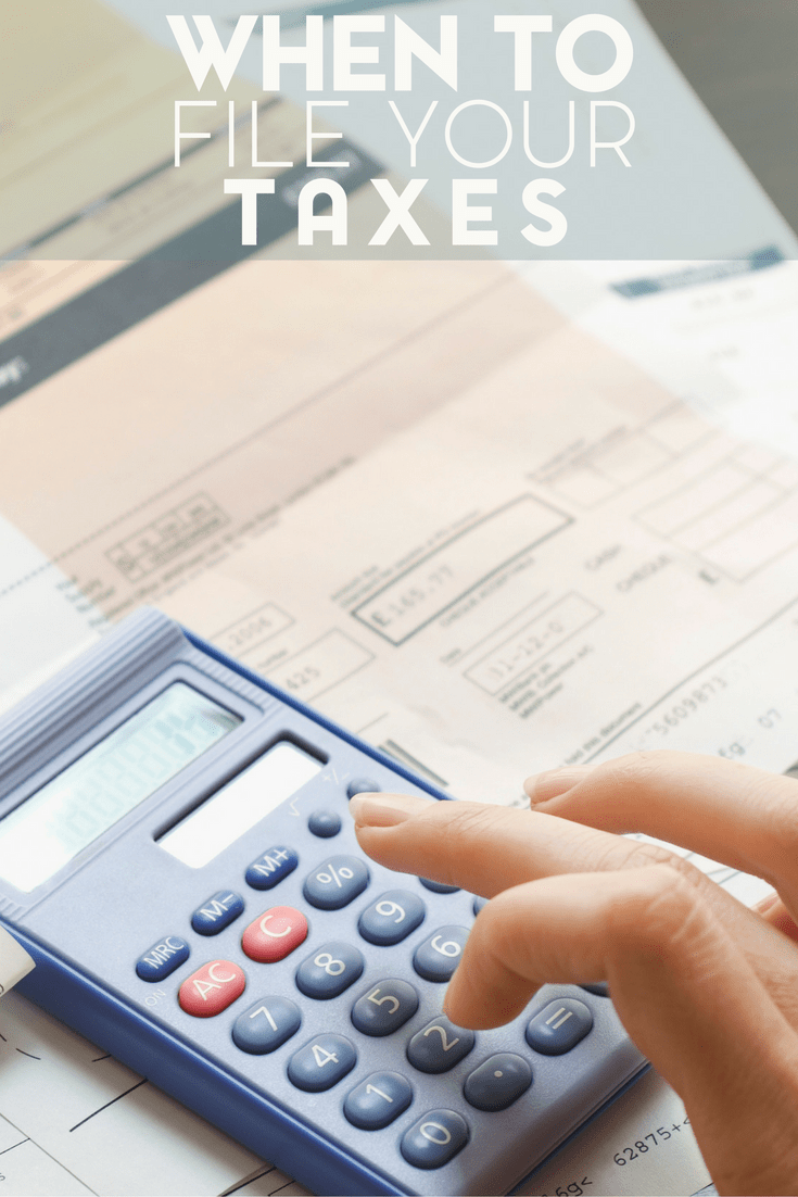 We All Know That The Deadline To File Taxes Is April 15th, But How Early