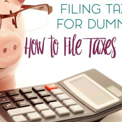 Filing Taxes for Dummies: How to File Online