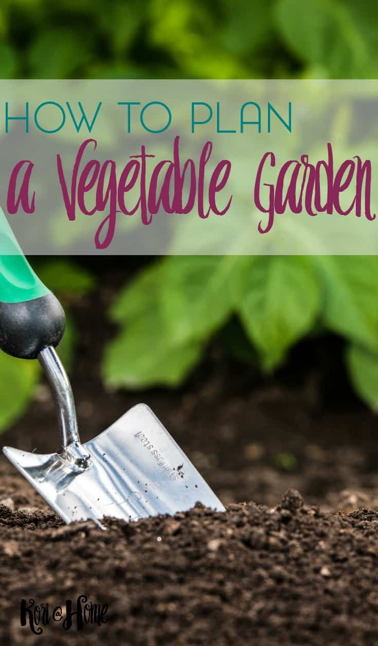 Are you starting a garden at home this year? In this post, we're going to talk about planning a vegetable garden at home.