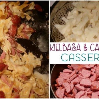 Creamy Kielbasa and Cauliflower Casserole