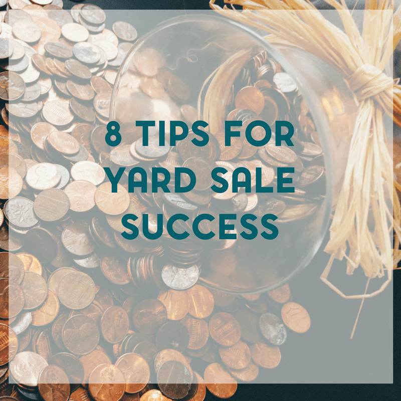 A successful yard sale can bring you plenty of extra cash.