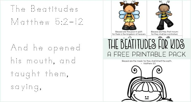 beatitudes for kids featured