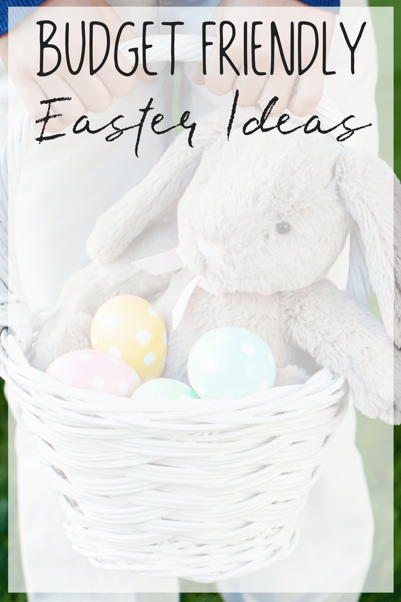Did you know that parents are likely to spend as much money on Easter as they are on Christmas? Take a look at these simple budget friendly Easter ideas to keep your spending in control.