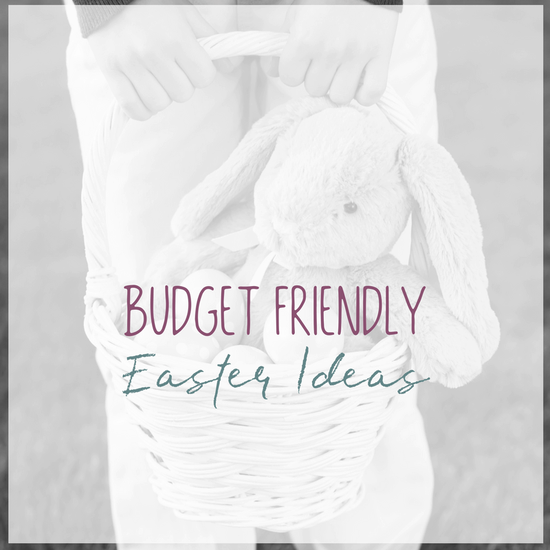 Easter is becoming more and more commercialized and consumer driven than ever. Here are a few budget friendly Easter ideas for kids that won't break your bank.