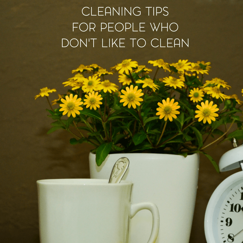 Spring Cleaning Tips and Advice for People Who Don't Like to Clean