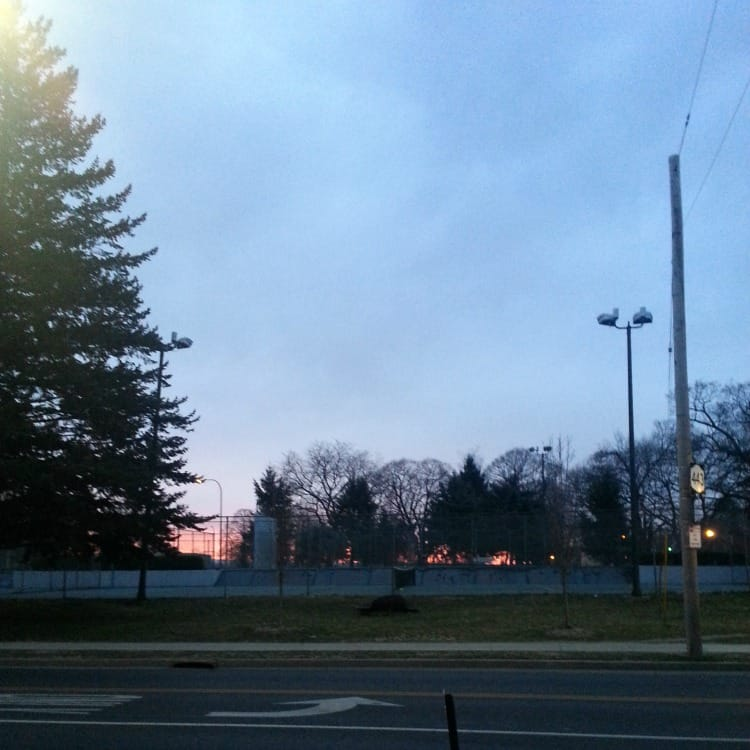 early morning walks