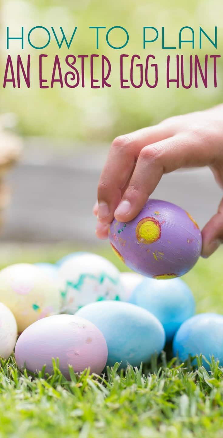 The Easter egg hunt is usually one of the highlights of the day. Here are some tips for how to plan an Easter egg hunt that's fun for all ages.