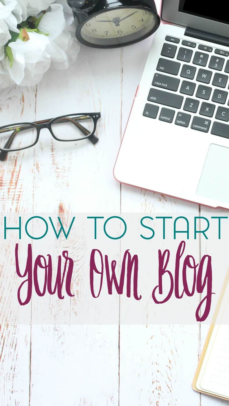 Are you thinking of starting a blog but unsure of how to begin? Here are just a few tips and tricks for how to start your own blog.