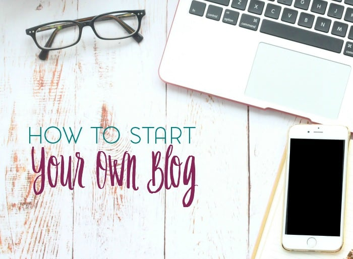 Are you thinking of starting a blog? Here are my tips and tricks for how to start your own blog.