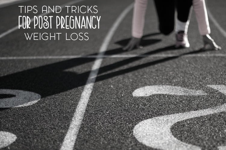 Pregnancy weight can be stubborn when it comes to losing it. Here are a few tips and tricks for post pregnancy weight loss.