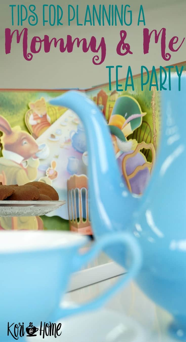 A mommy and me tea party is a great idea for Mother's Day or any day of the year! Bring out your inner child and spark your own child's imagination.