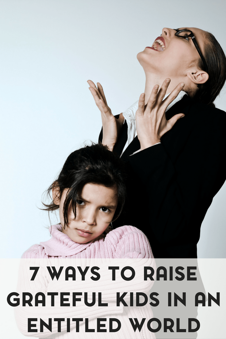 We live in a world that has a me first, entitled attitude. Sad, but true. Here are 7 ways to raise grateful kids.