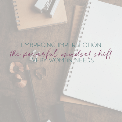 Why I Choose to Embrace My Imperfection