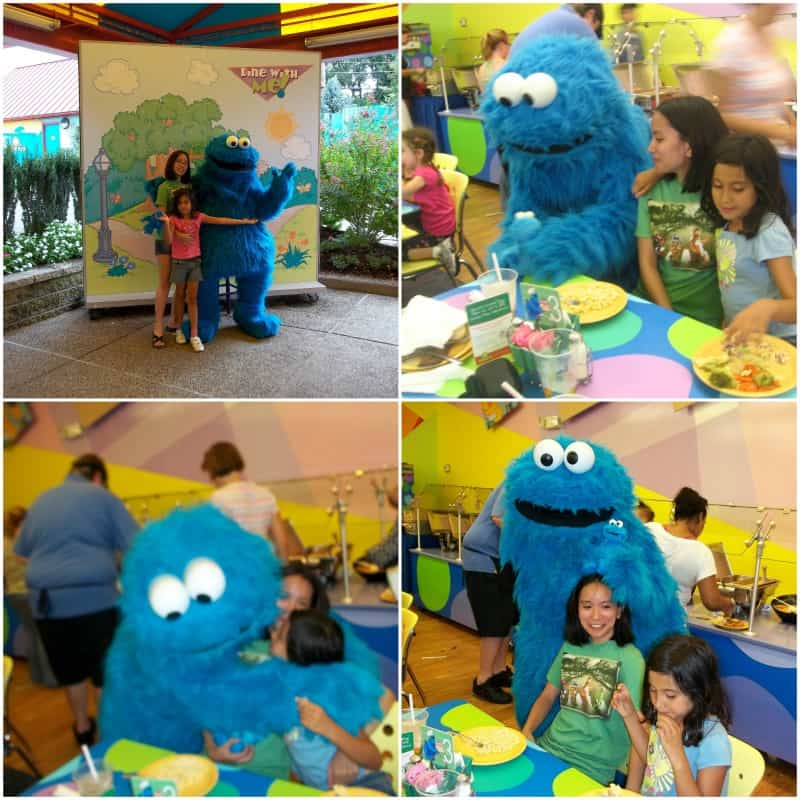 family trip to sesame place