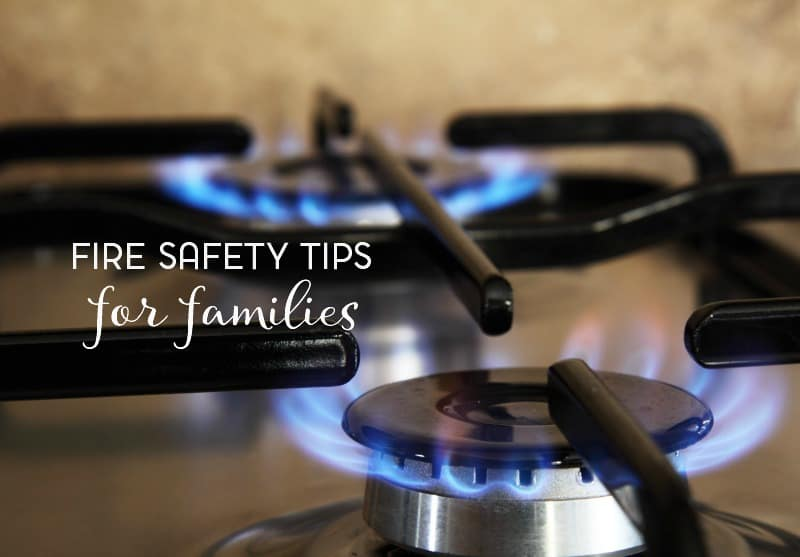five fire safety tips for families