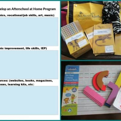 How to Develop an Afterschool at Home Program