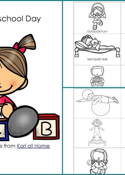 Want to give your preschooler a hand with their daily routine? Check out this free preschool schedule printable pack.