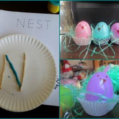 N is for Nest: A Mini Tot School Unit