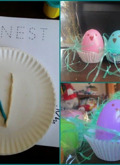 We pulled together a few simple spring based activities to create this mini unit for our tot school and afterschooling programs. Have fun and enjoy this N is for Nest exploration!