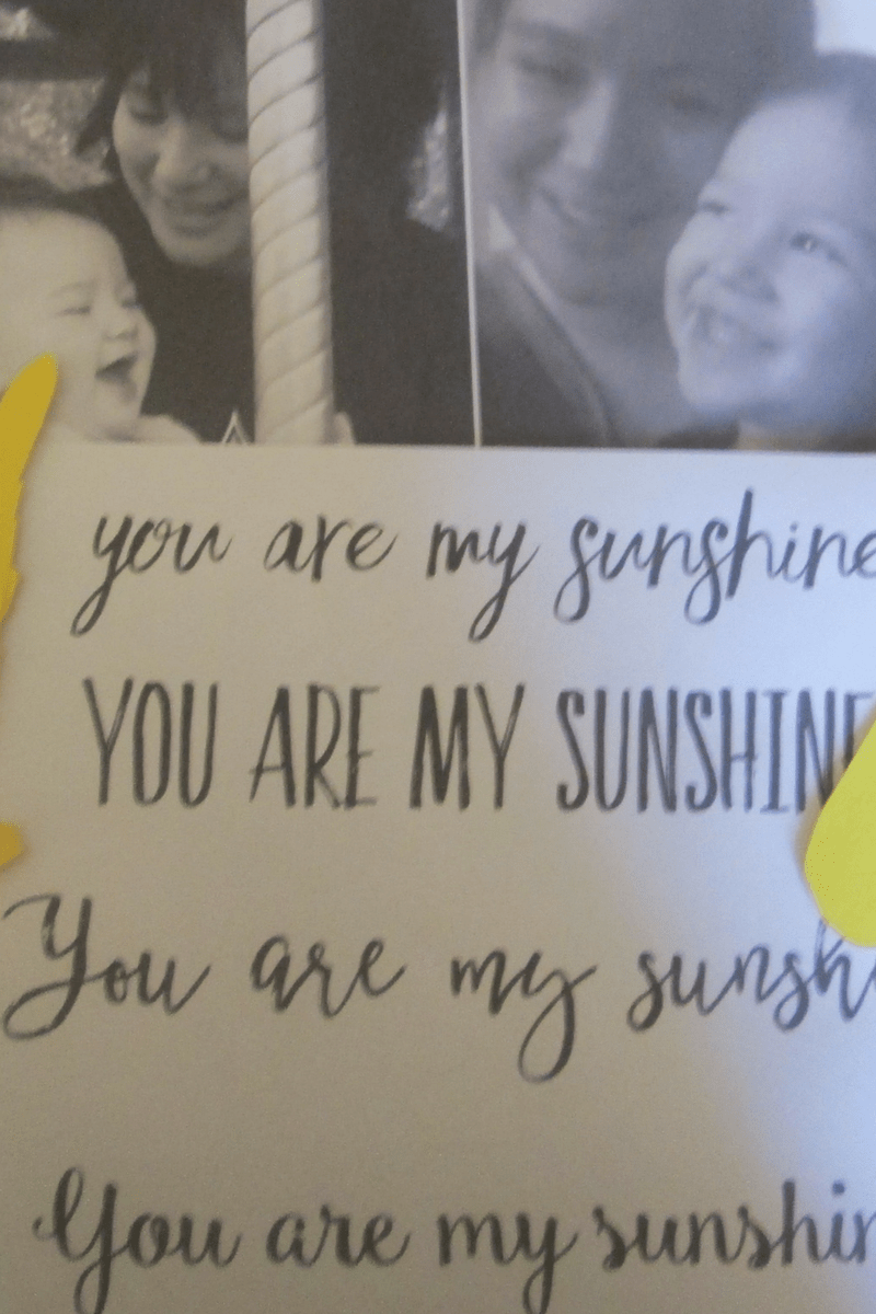 You Are My Sunshine Paper Plate Mother's Day Craft Idea 2