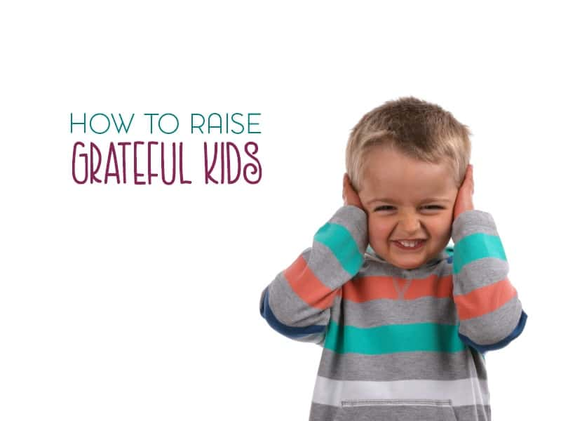 Are you dealing with a case of slightly spoiled children? Here are a few ways to raise grateful kids in an entitled world.