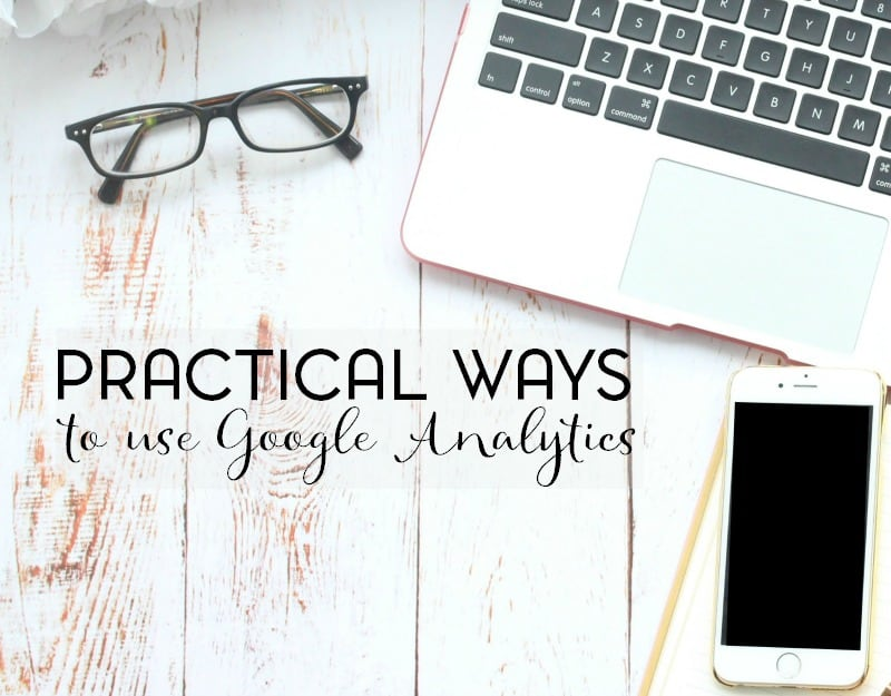 Google analytics is one of the most power tools that a blogger has. Here are a few practical ways to use Google analytics to grow your blog.