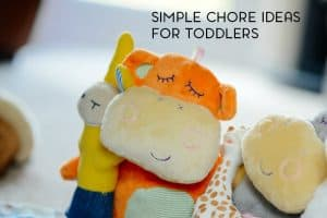 We all know that toddlers are experts in making a mess. But what about chores? What are some simple chores for a toddler?