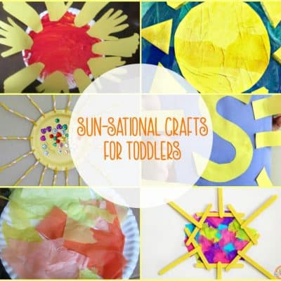 10 Easy Sun Themed Crafts for Toddlers and Preschoolers