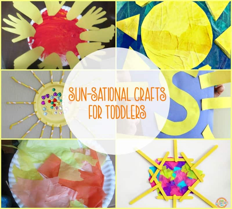 Bring a little bit of sunshine inside with these 10 easy sun craft ideas for toddlers and preschoolers.