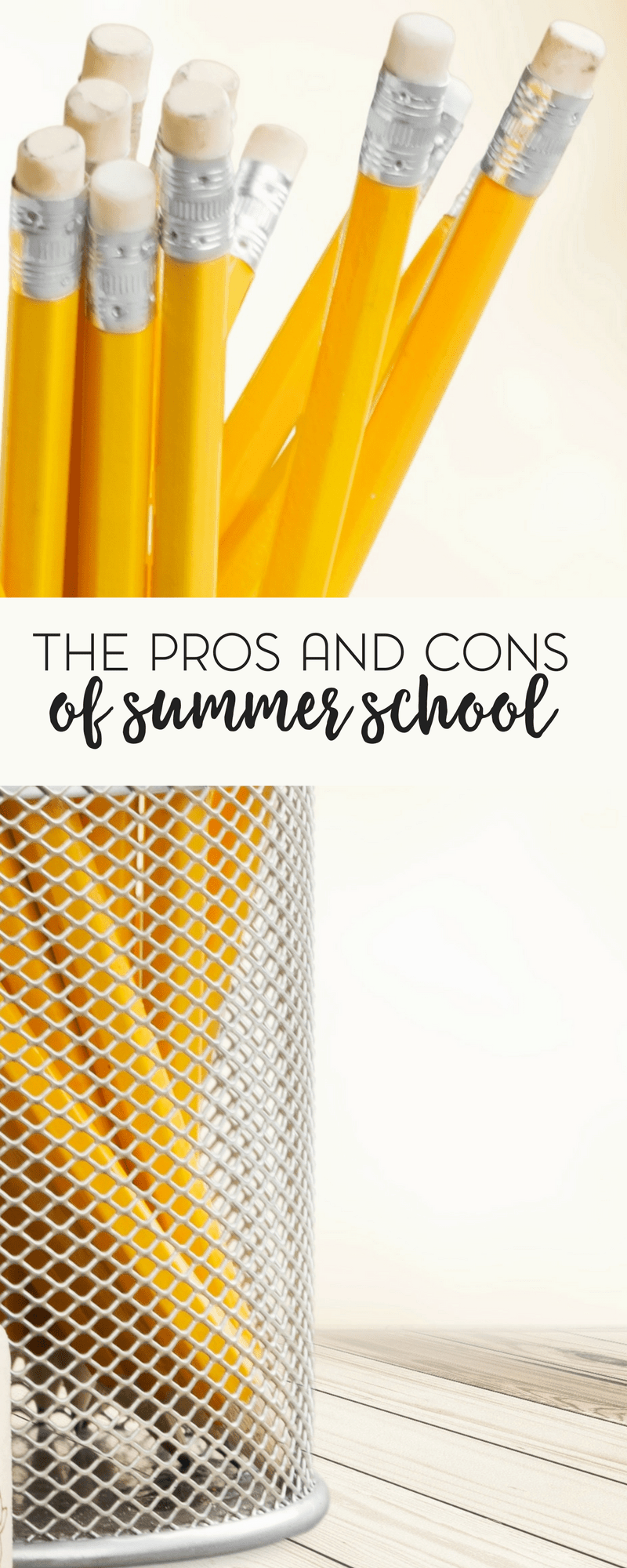 Are you thinking about sending your child to summer school? Before you do, make sure that you consider the pros and cons.