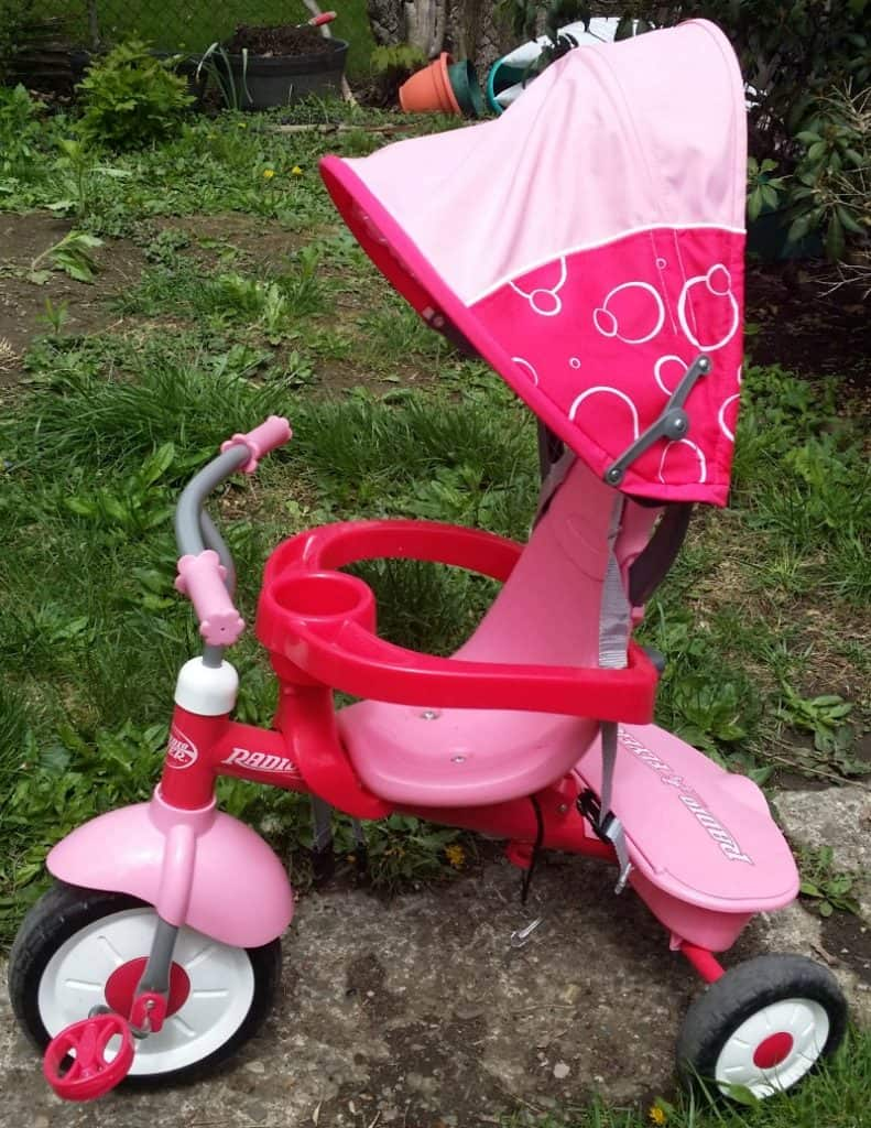 the trike for the toddler
