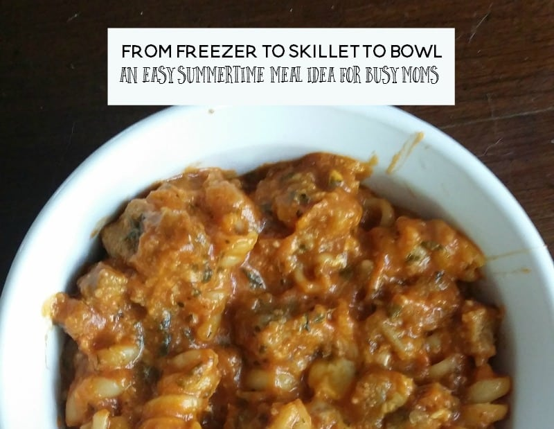 easy summertime meal idea for busy moms