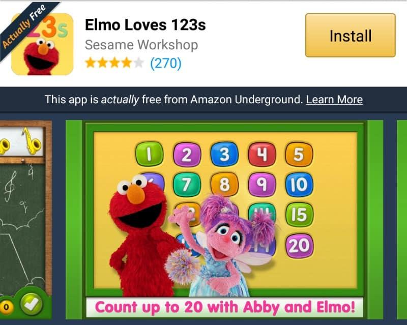 elmo loves 123