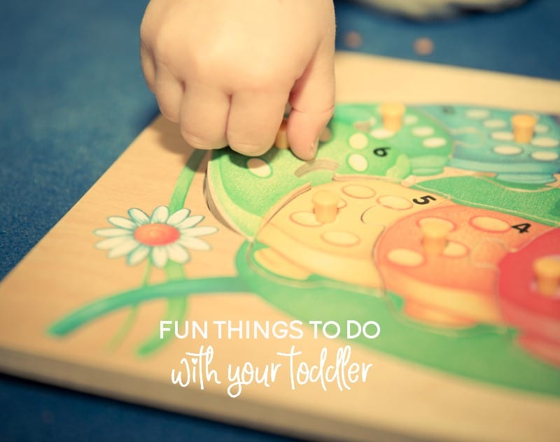 Fun Things To Do With Your Toddler That Won't Drive You Crazy