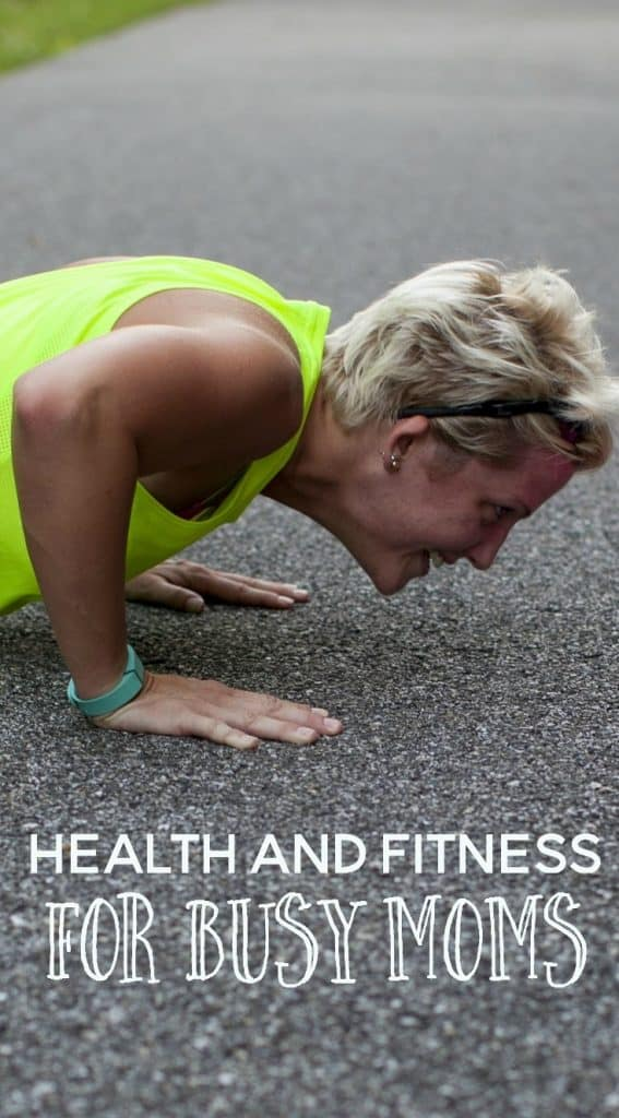 health and fitness for busy moms