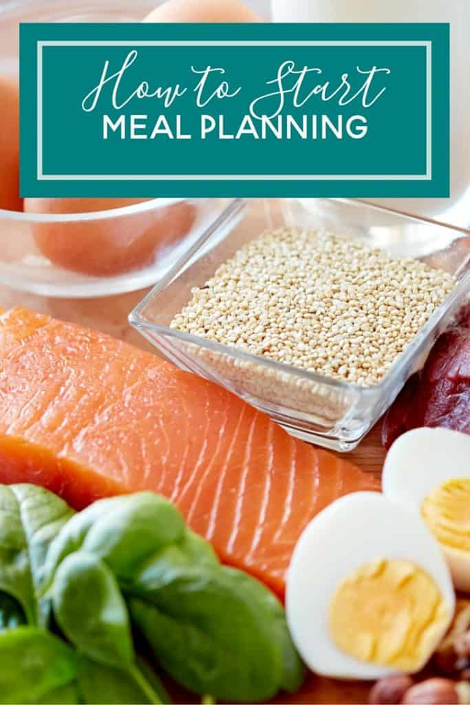how to start meal planning