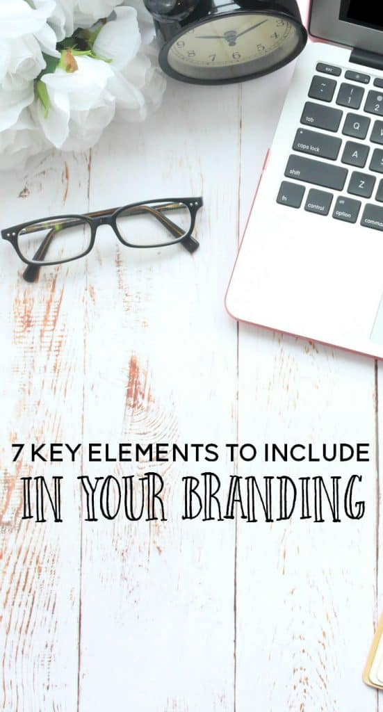 key elements to include in your branding
