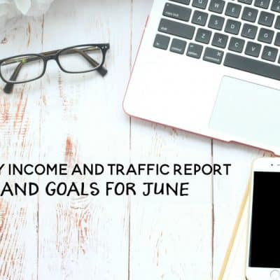 May 2016 Income and Traffic Report + Goals for June