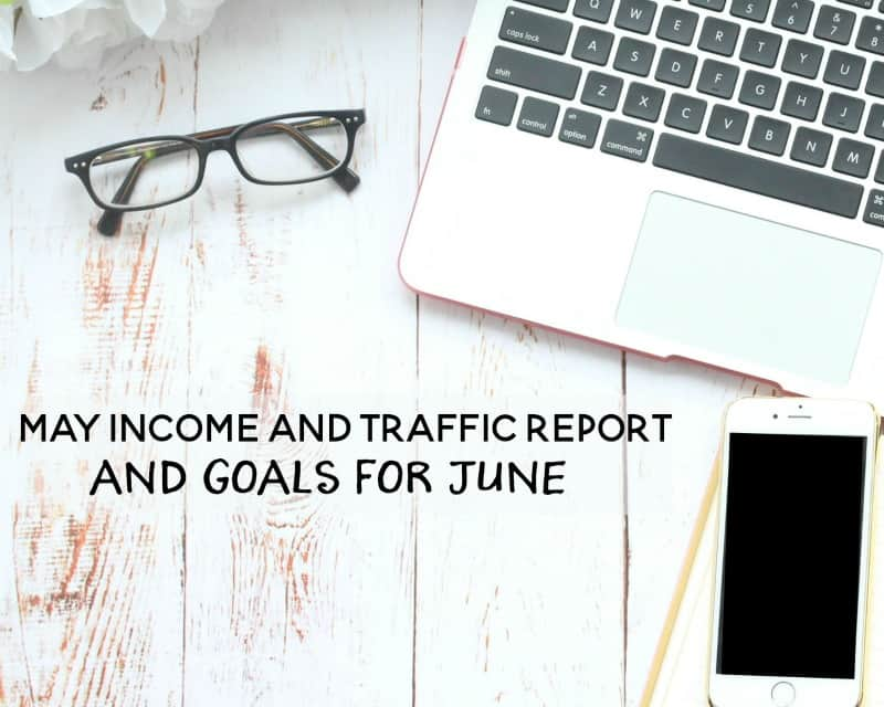 I'm sharing my most recent income and traffic report for Kori at Home and also sharing my goals for the next month. What big things are you planning?