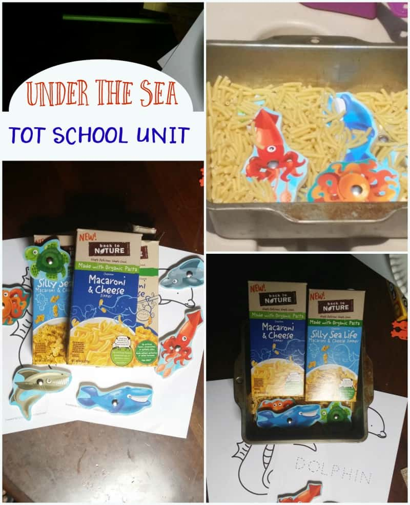 under the sea tot school unit