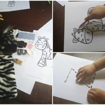 Z is for Zebra Mini Tot Pack + Activities
