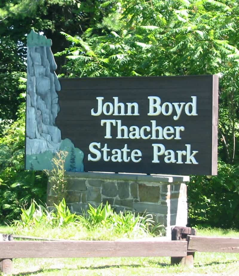 a day trip to thacher park