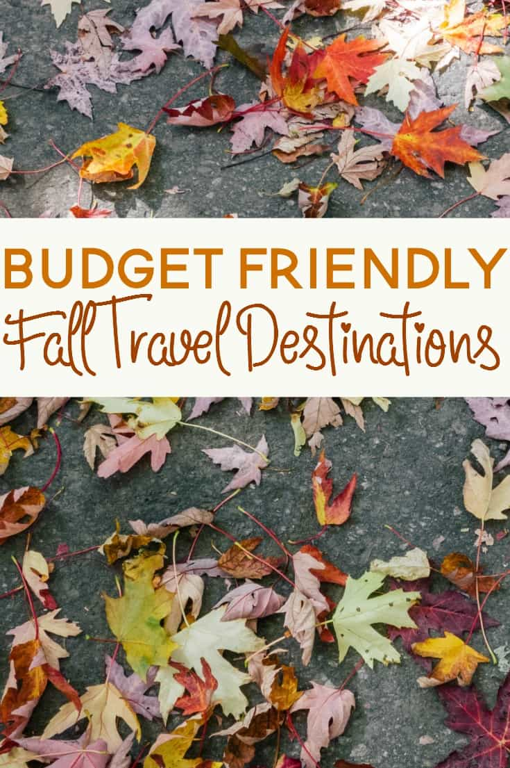 Traveling during the fall can actually save you quite a bit of money. Here are a few ideas for how to plan a budget friendly fall vacation.