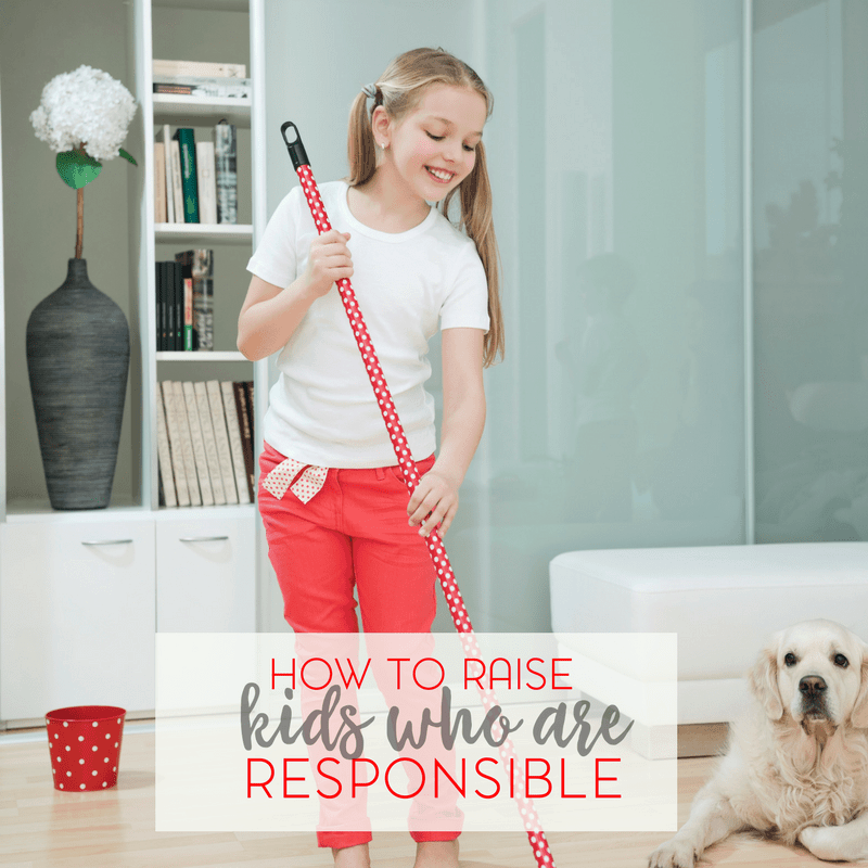 When you raise kids who are responsible, you are equipping them to be successful in life. Check out my practical guide to raising responsible kids.
