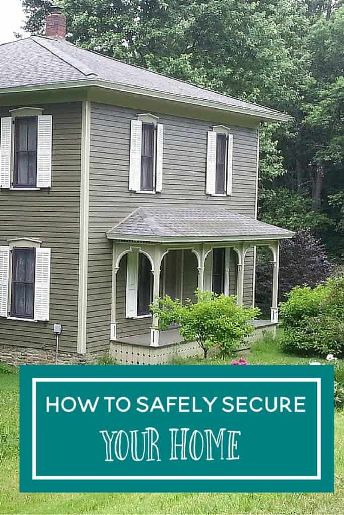 how to safely secure your home
