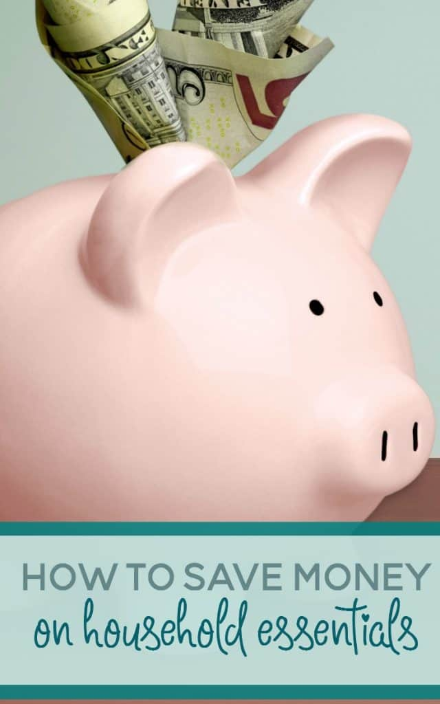 Do you feel like you're consantly living paycheck to paycheck? Here's how to save money on the household essentials that your family needs.